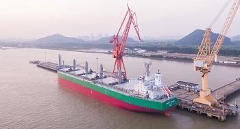 7012 - 川崎重工業(株) 2019年06月12日 プレスリリース ばら積運搬船「MARKET PORTER」の引き渡し