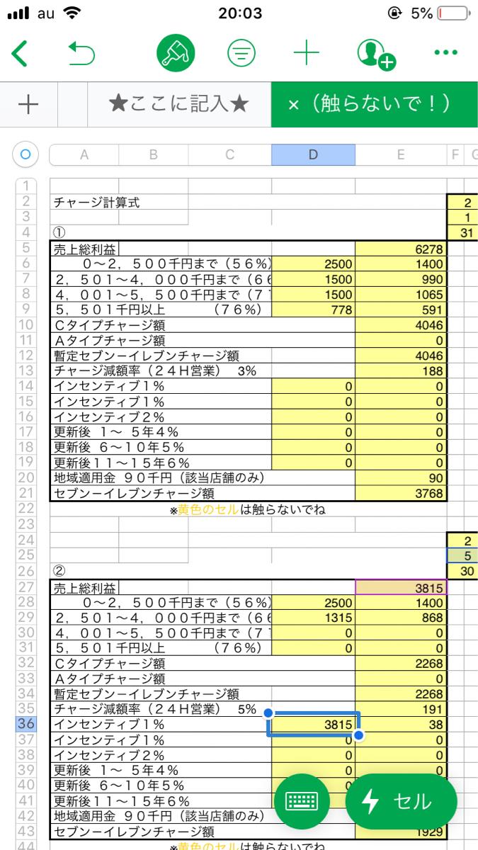 3382 - (株)セブン&アイ・ホールディングス 私の計算ではこうなります。  間違いを教えてねー