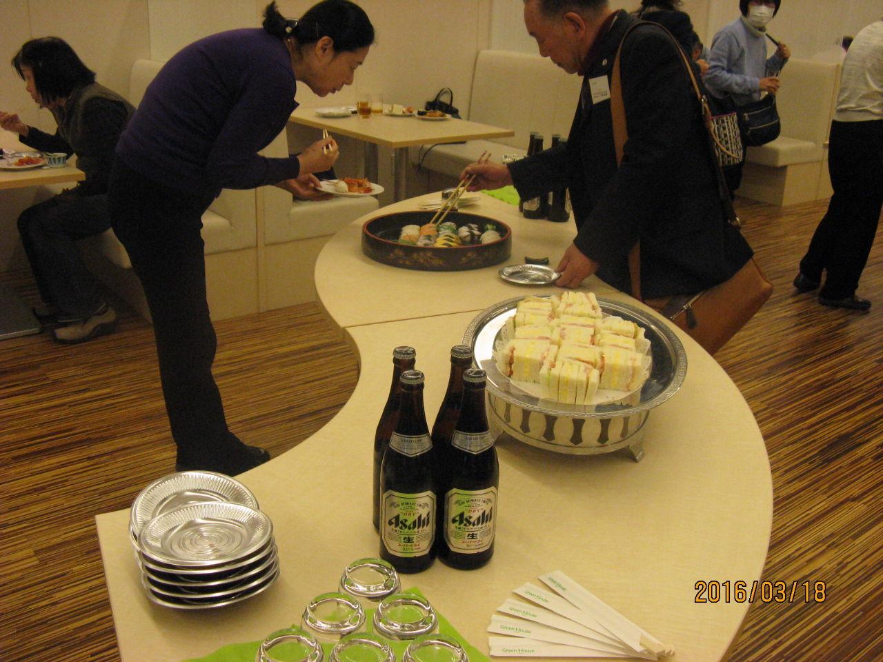 6858 - (株)小野測器 本日株主総会 懇親会ありました。
