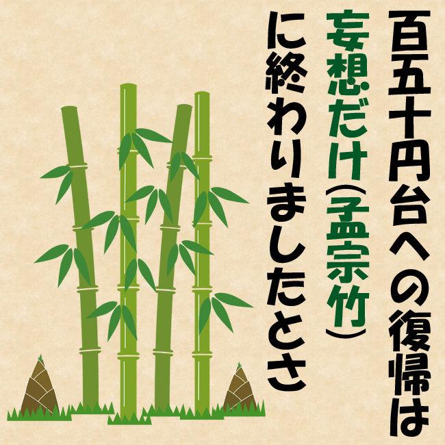 8789 - フィンテック グローバル(株) 綺麗な竹の花が咲くよう祈りまひょ。  (確か昨日も言うた気がする)