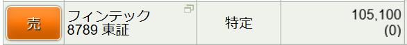 8789 - フィンテック グローバル(株) スキャってるけどブレブレ小さいので不満。  因みに恩株です。ガチホさん頑張れプップー