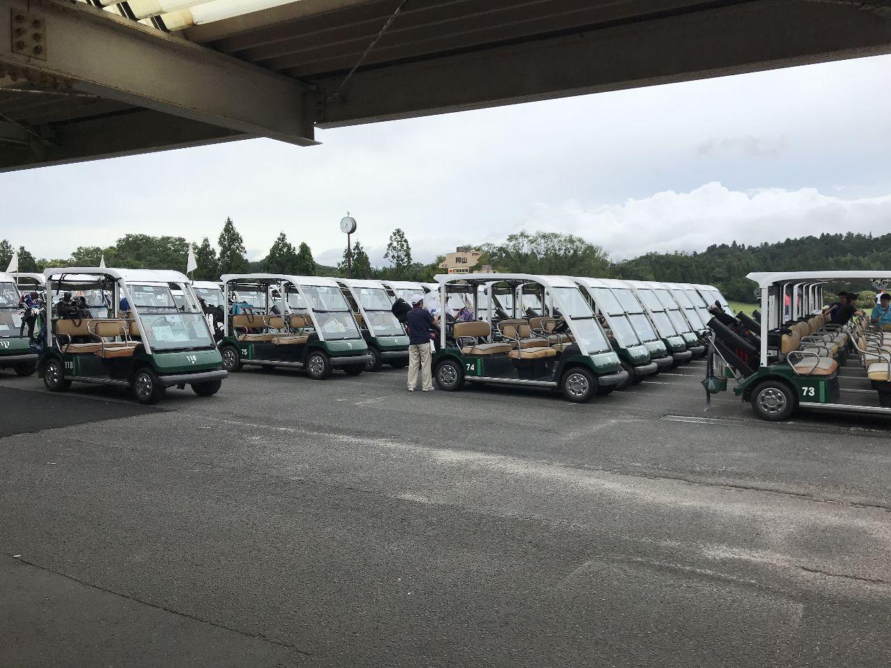 6412 - (株)平和 週末なのでゴルフの話  本日PGM系の三重県のゴルフ場にてプレイ 朝7時にゴルフ場到着。並んだゴルフ