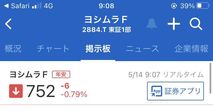 2884 - (株)ヨシムラ・フード・ホールディングス やったぁ 年安‼️  まだまだ更新するんだろうけどね‼️  満腹太郎がいるから大丈夫よ👌
