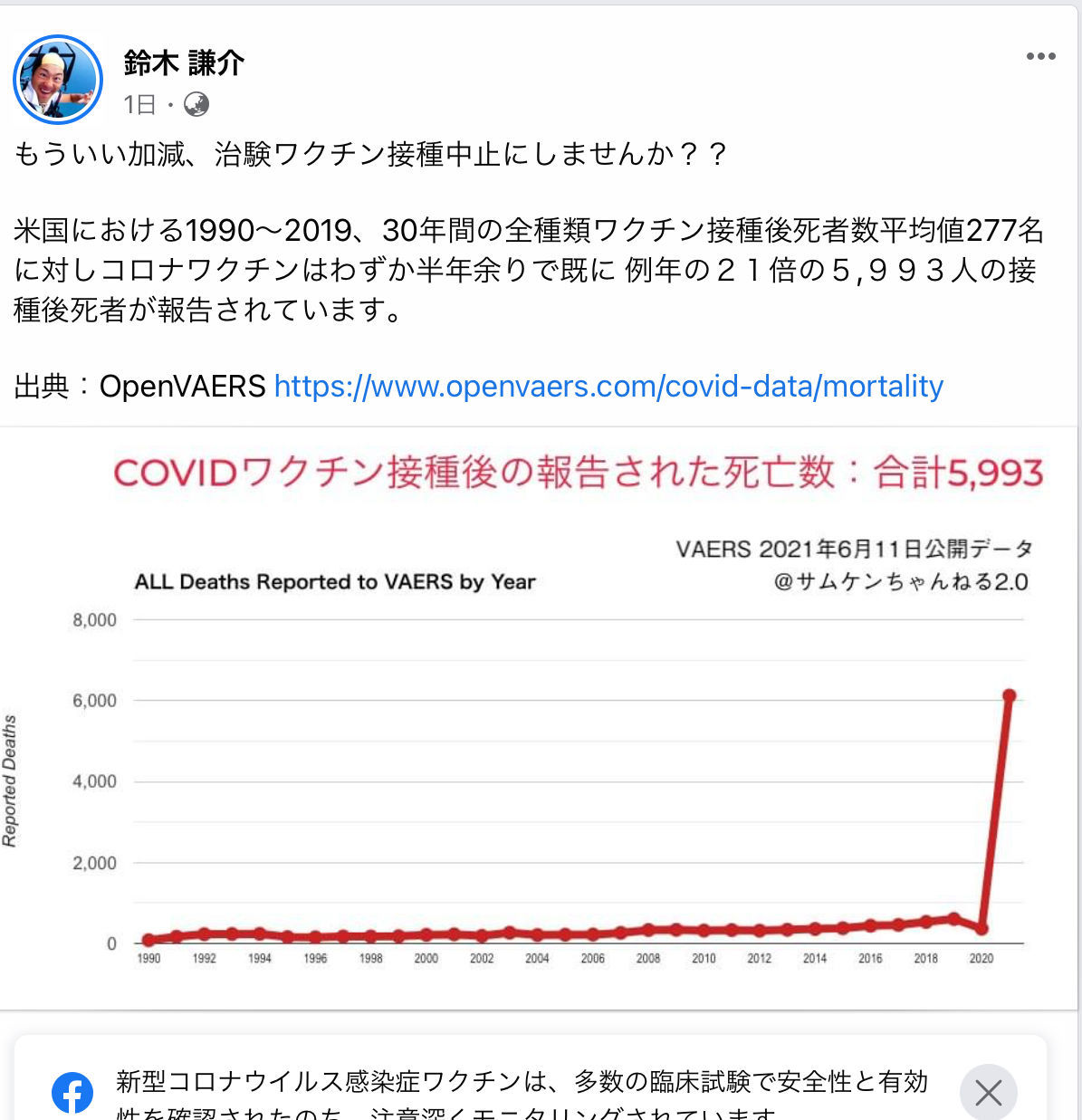 くるみぱん2 💉  https://www.facebook.com/100002872786477/posts/