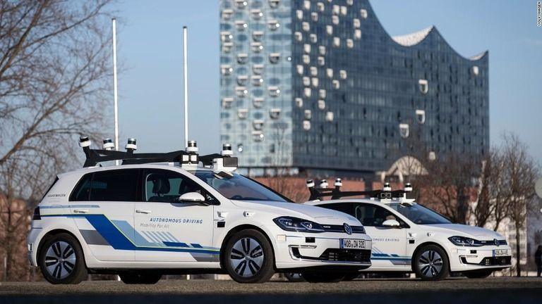 ZMPとZMP関連銘柄を語る ⬆レベル4に進め、ZMP社長 >独VW、了解しました…ぷ 【独VW、ハンブルクで自動運