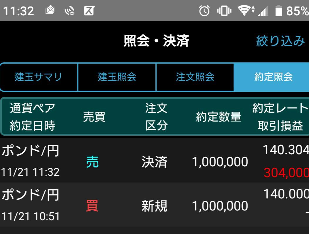 gbpjpy - イギリス ポンド / 日本 円 リカク早まったな~