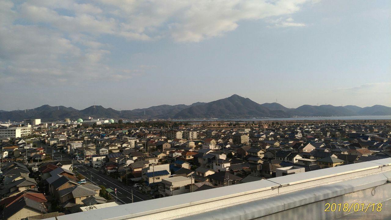気楽に おいで 三日坊主です。 優さん。 金華山は同じくらいの標高ですね。 昨年の小山歩き回数は22回でした。 多い