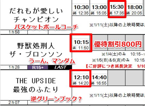 9635 - 武蔵野興業(株) 新宿武蔵野館で、3本観て来ました。 今年は後で内容をすぐ思い出せるように、ネタバレにならない程度に、