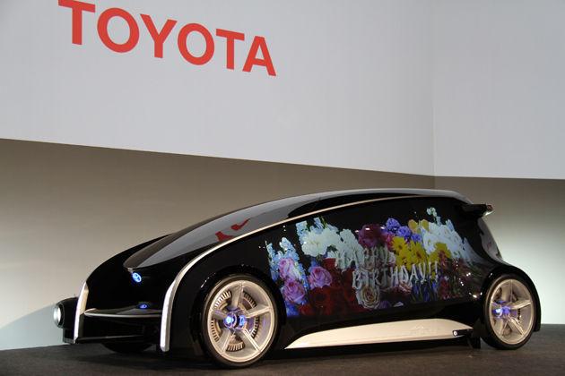 6740 - (株)ジャパンディスプレイ トヨタなんて8年前に「ボディが液晶」の車を作ったもんね。伊藤ちゃんなんかまだ現実的( *´