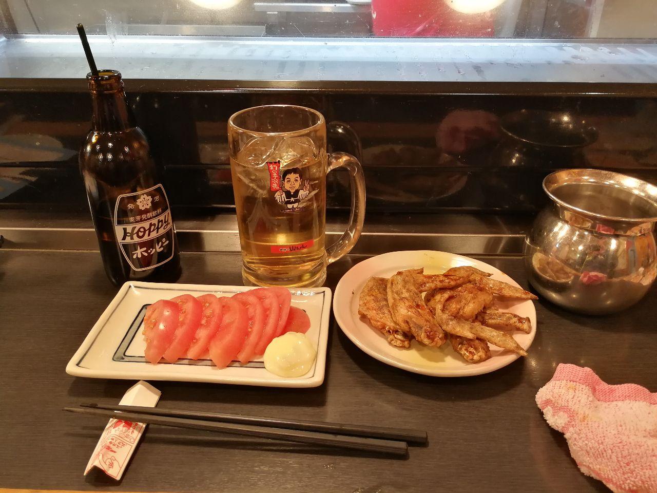 9984 - ソフトバンクグループ(株) 今飲んでいるのは 発祥の地 名古屋の山ちゃんでホッピー飲んでます
