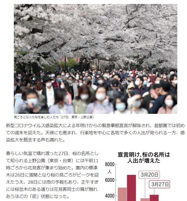 9734 - (株)精養軒 上野公園人手すごいですね  花見で長居できない分、みなさん周辺の飲食店に流れるでしょうから 精養軒は