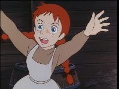 生き物山手線ゲーム 1.赤毛のアン  アニメ作品あたりからいってみます。 これは小説にはなくアニメオリジナルストーリーで
