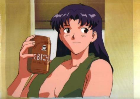 ★★★アニメ関連山手線ゲーム☆☆☆ 13.新世紀エヴァンゲリオン   ミサトさんの冷蔵庫にはビールしかありません。