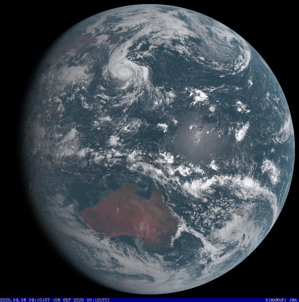 証券会社の注目記事はどうか 静止気象衛星 全球  可視