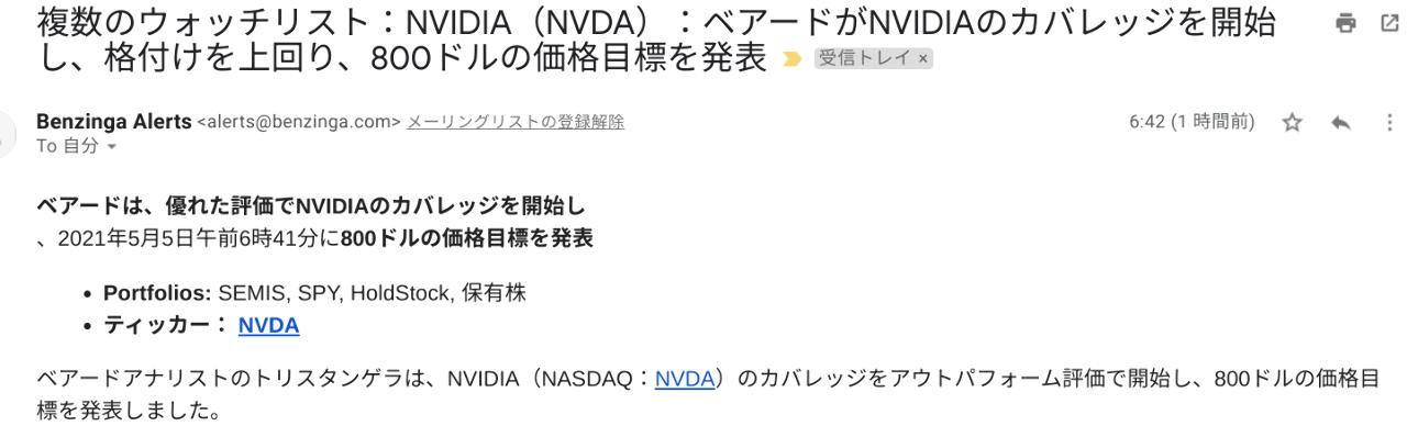 NVDA - エヌビディア ER向けて上昇するか!