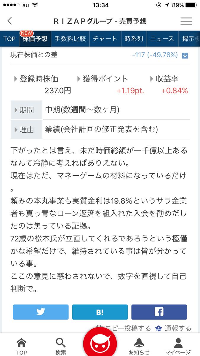 2928 - RIZAPグループ(株) 😋