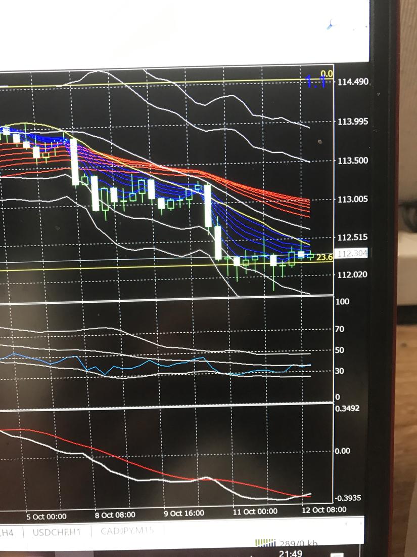 usdjpy - アメリカ ドル / 日本 円 現状はフィボナッチの23.6ラインがサポートラインとして作用してくれているからあんまり急激に下がらん
