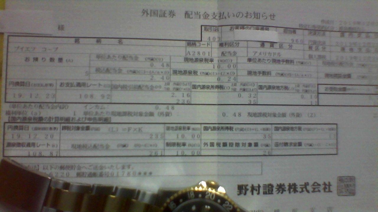 2268 - B-R サーティワン アイスクリーム(株) 人生バラ色^^くじ様 3901 2051円 ABBV89.85米 BLK499.64米 VFC98.