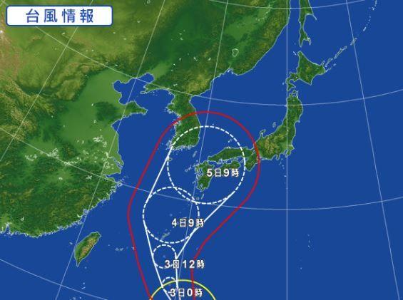 998407 - 日経平均株価 台風18号来るな、超強力だ。沖縄を直撃して本州縦断か、恐るべきまがつ神の怒り。