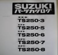 ハスラーについて語ろう 5型でしたか、TS250って3型で大ヒット作となり、次が5型って事で4型が無いんですよね。ま、便宜的