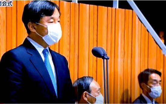 998407 - 日経平均株価 天皇の5輪開会宣言を 着席したまま聞いてるとは・・・! 小学生並みやなw