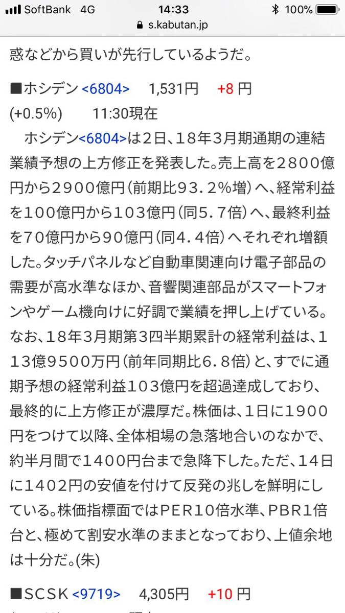 6804 - ホシデン(株) ええ事書いてますわ。