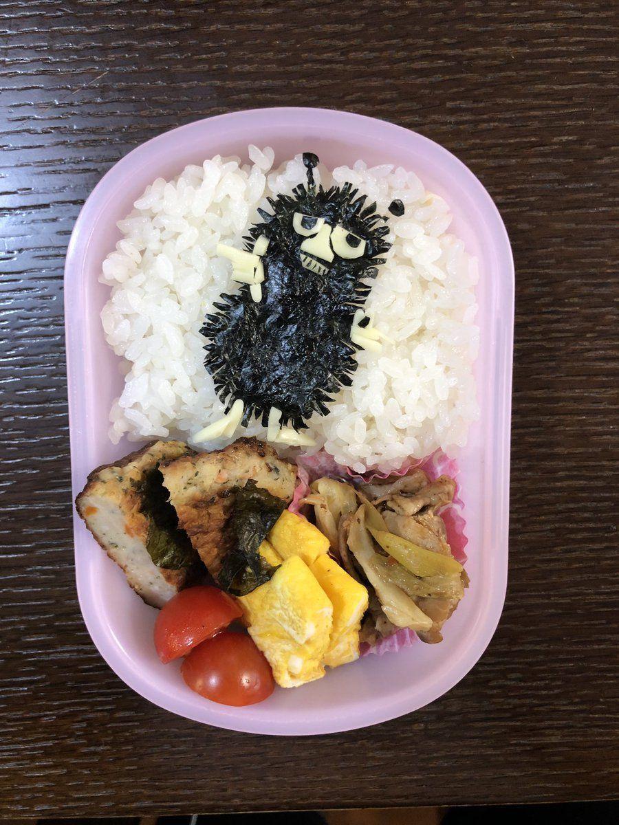 Hyggeなところ。 ザ・ギース尾関さんがお子さんのために作ったお弁当。
