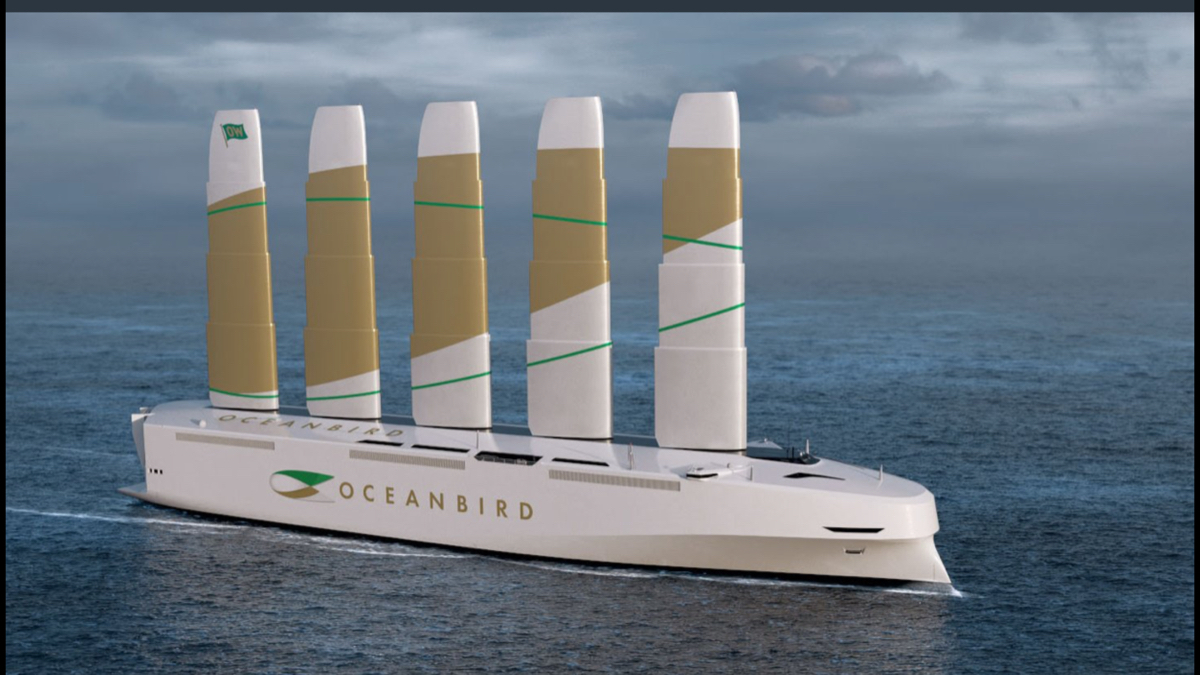7003 - (株)三井E&Sホールディングス 今更でしか無いが、三井造船時代にこんな船だしてたらなあ。  スウェーデンのワレニウスマリンが、風力を