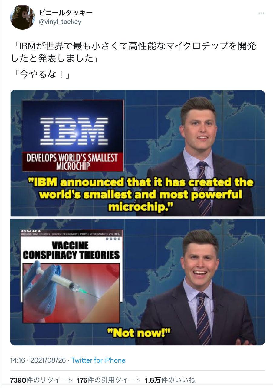 あめちゃん2 デジタルID ナノチップだよね?🐥🐥🐥  「IBMが世界で最も小さくて高性能なマイクロチップを開発し