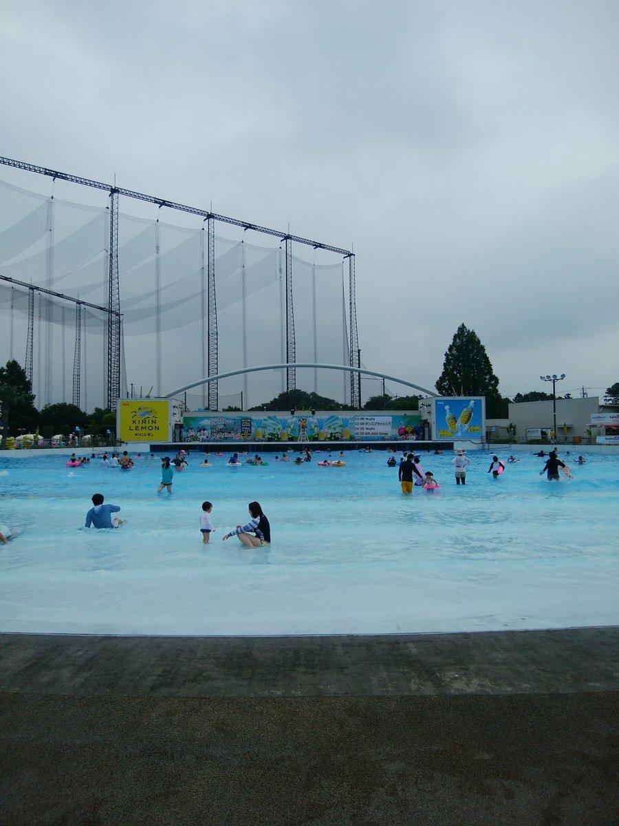 9671 - (株)よみうりランド 7/21(日)Twitterより 夏休みの土日。賑わって・・・ないな(T。T)
