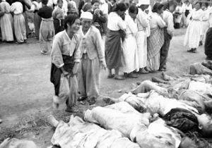 これはもうナチスと同じだぞ 新大久保の差別デモ   1951年韓国居昌住民虐殺事件     1951年韓国居昌住民虐殺事件