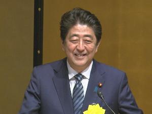 政権交代に向けて頑張ろう♪ 本日、安倍総理は、都内で開催された全国信用金庫大会に出席しました。 日本のリーダーのコメントを頼もし