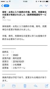 3580 - 小松精練(株) 🚀