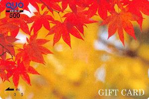 2186 - ソーバル(株) 【 株主優待 到着 】 500円クオカード(GIFT CARD)  -。