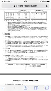 3086 - J.フロント リテイリング(株) 2月途中マイナス21