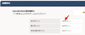 9601 - 松竹(株) 映画ポイント  【 100ポイント付与 】 されてる!。 (5月末期限分80ポイント、議決権行使20