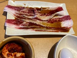 3097 - (株)物語コーポレーション 一昨日はgotoプレミアム商品券を使って キングに行きますたっ!  すき焼き肉🥓うめぇ〜!  ただ、