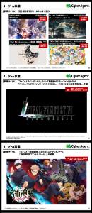 4751 - (株)サイバーエージェント NieR、韓国、iPad   DL、1位。(・・)