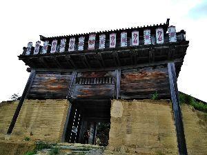 秋蒔き小麦、きたほなみ ~蟹の軒先~ 鬼の城と備中高松城にいってきました。 鬼の城(朝鮮式山城西暦700~800年ごろ)のいわれは岡山でも