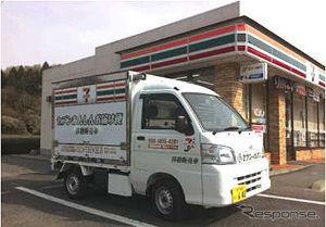 60代からの出会いを楽しみませんか!! 今日は!  今日の話題です、こちら大阪府下 南東部で初めてコンビニの移動 販売が始まりました、高齢者