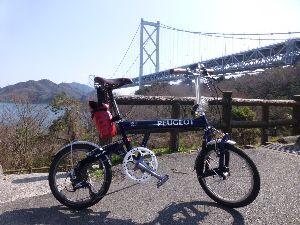 折りたたみ自転車で輪行サイクリング 3月の3連休は折畳み自転車を持って飛行機輪行、しまなみ海道に行ってきました。  1日目は広島空港から