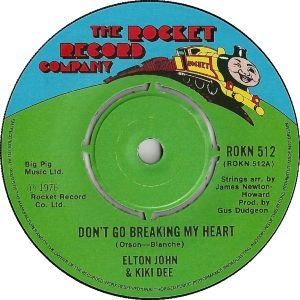 youtubejockey Elton John - Don't Go Breaking My Heart   こんば