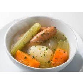7701 - (株)島津製作所 寒いのでポトフを煮ました。 野菜を大きいままでいいので楽です。 それに、まるごと美味しいフランクフル