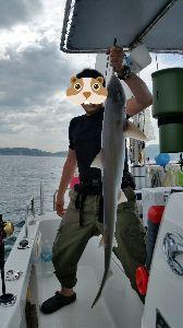 瀬戸内で釣り三昧 招かざるゲストw  軽くメーターオーバー>< サイズ計っておけば良かったwww
