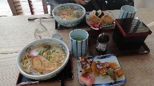 9046 - 神戸電鉄(株) 神鉄とは関係無いのですが、「まえなか」行ってみましたよ。 うどん定食のうどんが素うどんを想像していた