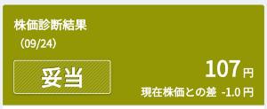 6494 - (株)NFKホールディングス abc君の「みんかぶ」では107円が基準だったから、今は高値圏‼️用心しよう😚