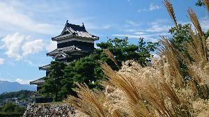 東海地区からLet'sgo! シゲさん 美ヶ原に行ってまいりました。 下山後は松本市内を徘徊し、 国宝松本城を訪れました。 何回行