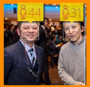 φ(・ω・ ) > どアップ  >来年は還暦 現在59歳のお二人の画像で試してみました。