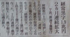 8301 - 日本銀行 危ういなぁ〜 原油価格頼み