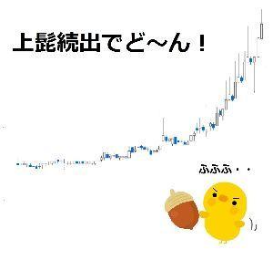 6731 - (株)ピクセラ さっきイナゴどうのこうのの話になりましたが、 ヒヨコの作ったこのチャートは、思惑だけで何度も上下する